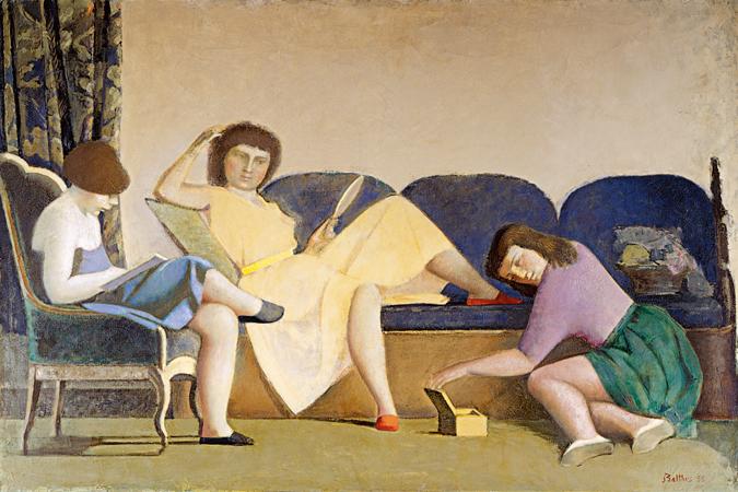 """Balthus y """"El martirio de San Andrés"""", en el Museo Thyssen"""