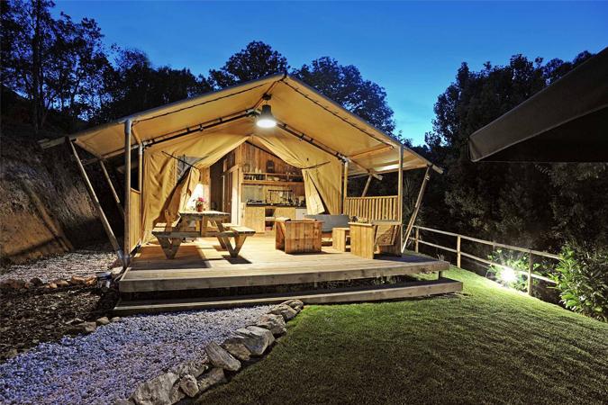 Camping Bañares estrena nuevas tiendas Glamping