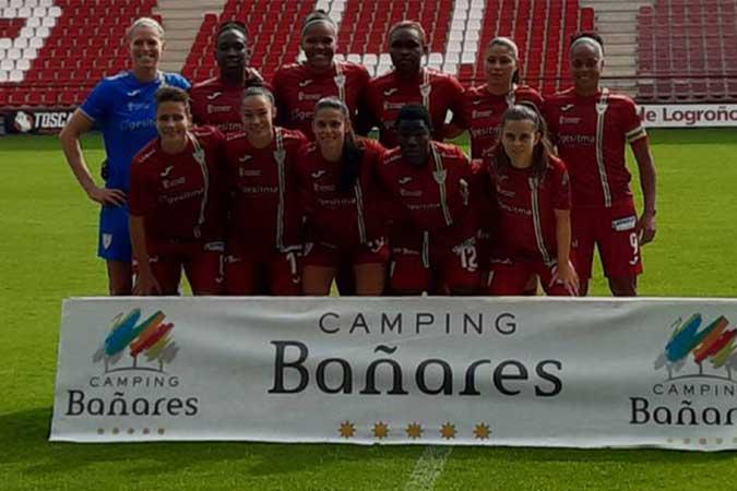 Camping Bañares patrocina el EDF Logroño femenino