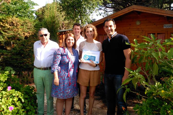 Camping Cabopino, primero de Andalucía en recibir el Sello