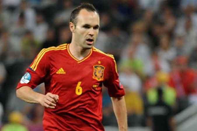 Euro 2016: las familias se irían de vacaciones con Iniesta