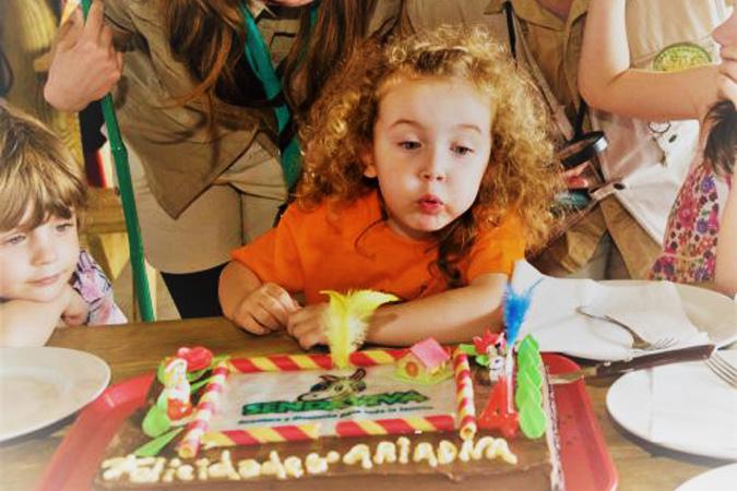 Fiestas de cumpleaños en establecimientos con el STF