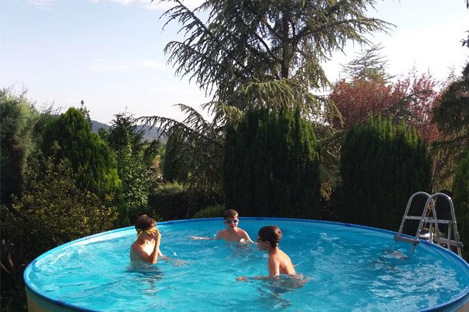 La Casa Rural Deo Gratias estrena piscina este verano