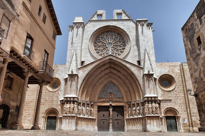 Visitas en braille y venta online en la catedral de Tarragona