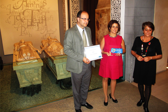 Teruel recibe el Sello para la Fundación Amantes