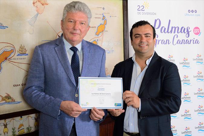 Las Palmas, primer destino de las Islas avalado con el Sello