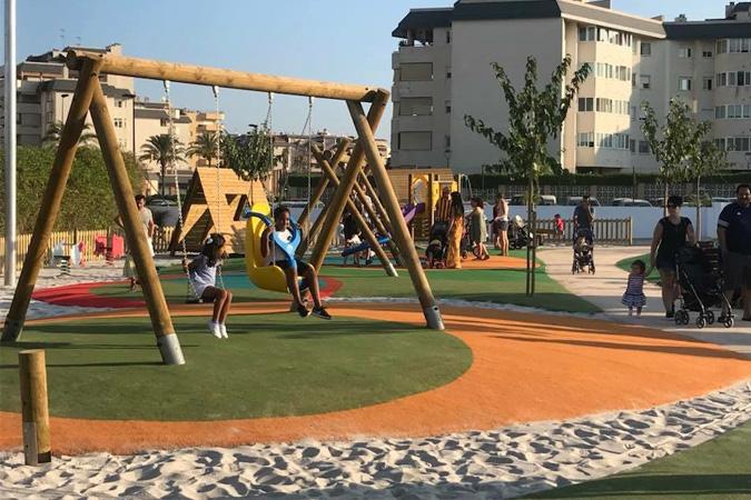 Los niños diseñan el parque infantil más grande de Ibiza