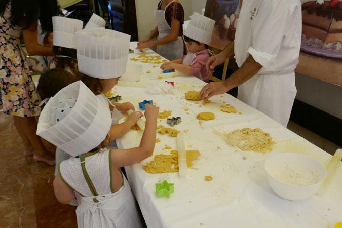 Masterclass de repostería para niños en el InterContinental Madrid