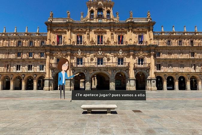 Nuevo juego familiar para conocer Salamanca con un tour virtual