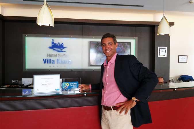 Sello de Turismo Familiar para el Hotel Suite Villa María