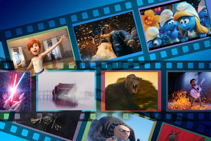 Todos los estrenos de cine para ver en familia en 2017