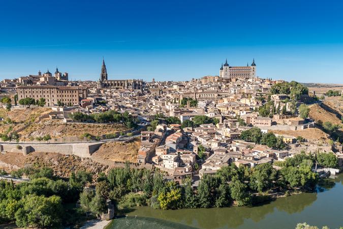 Toledo se engalana para la fiesta del Corpus Christi