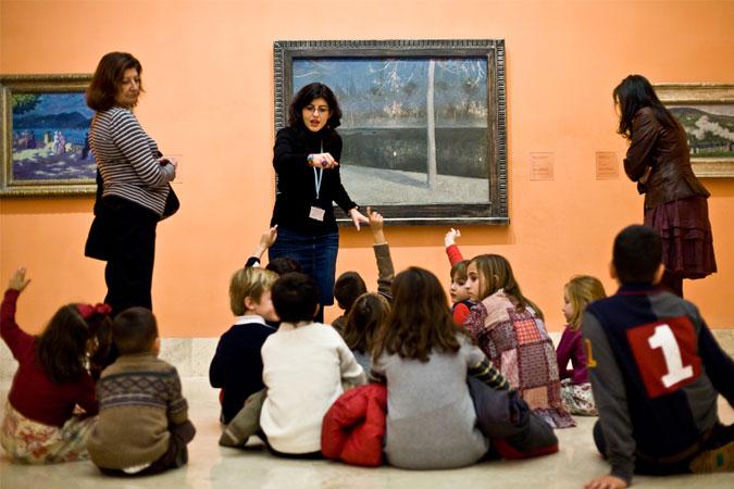Visitas-taller para familias en el Museo Thyssen en Navidad