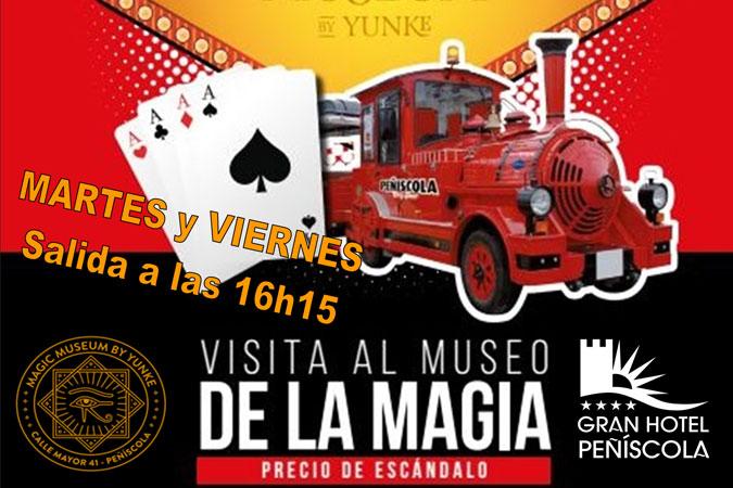 Tren de la Magia de Peñíscola + Mago Yunke, por 10 euros