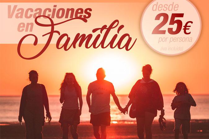 Vacaciones Familia Lagaya 2018 desde 25 €/persona