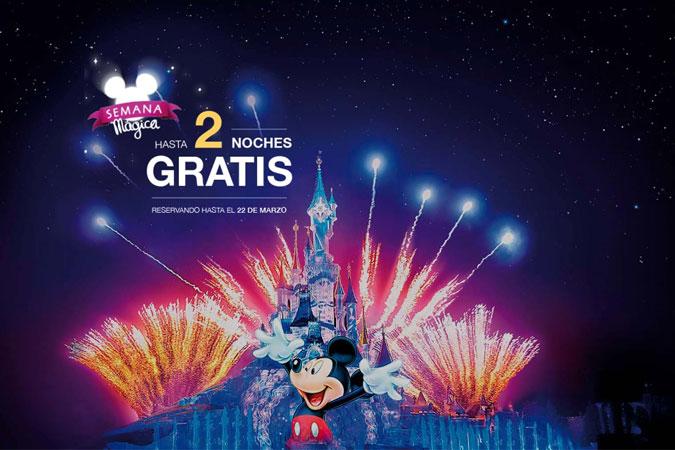 Semana Mágica en Disneyland París con Viajes Eroski